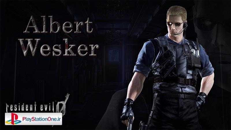 آلبرت وسکر - رزیدنت اویل صفر