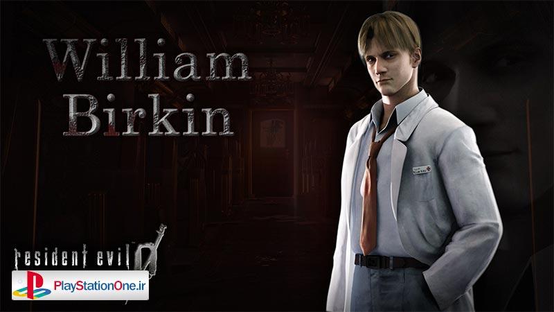 ویلیام برکین - رزیدنت اویل صفر