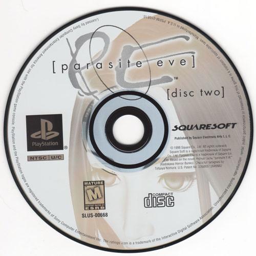 کاور بازی Parasite Eve 1 نسخه اورجینال
