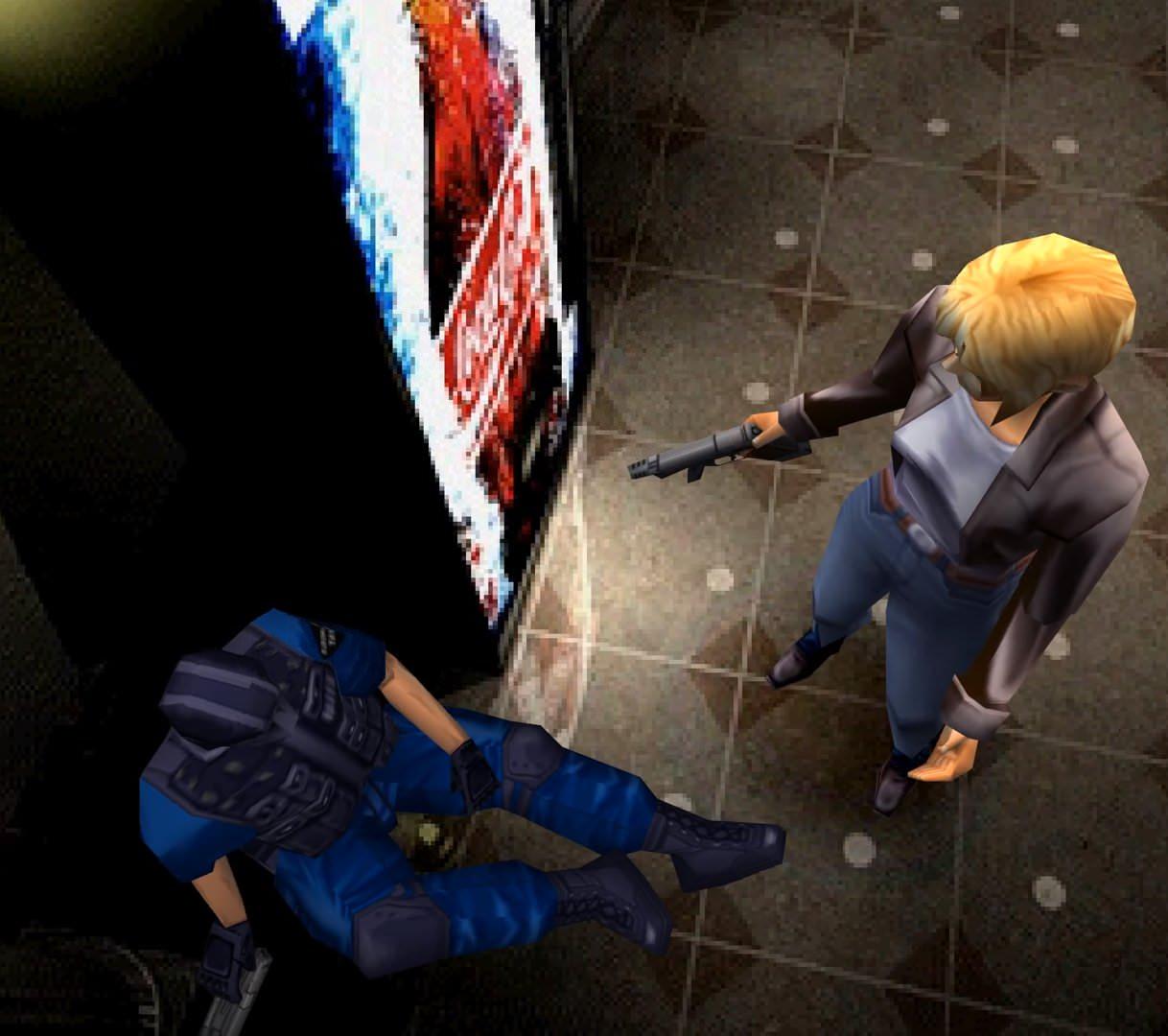 بازی Parasite Eve 1 نسخه اورجینال برای پلی استیشن ۱ به همراه کد داخل بازی