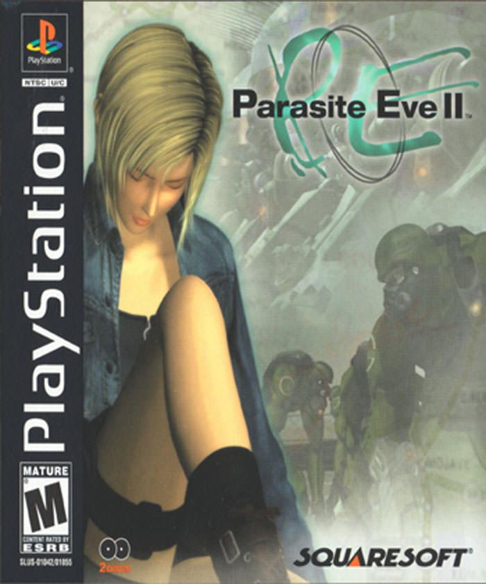 بازی Parasite Eve 2 نسخه اورجینال