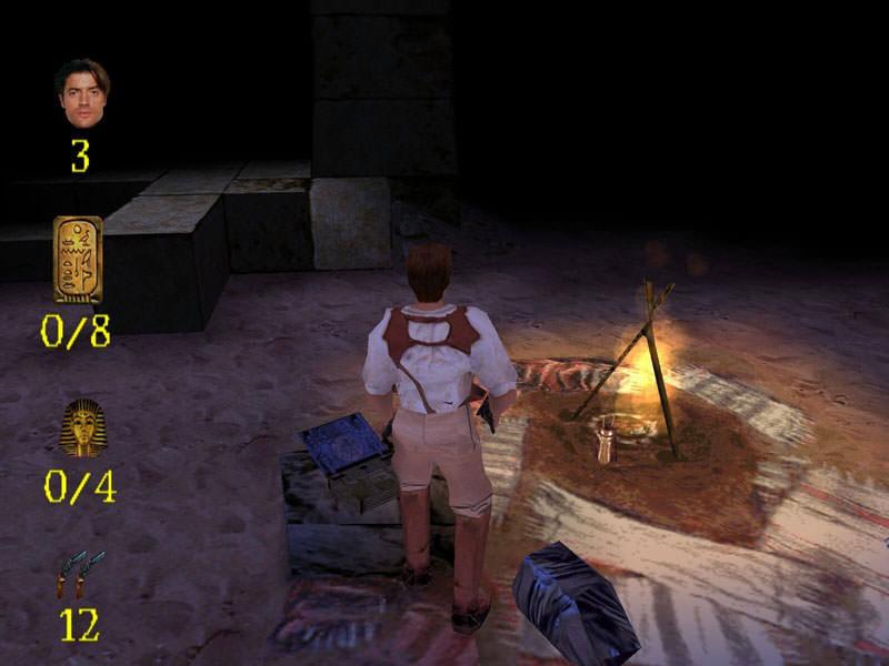 ابتدای بازی مومیایی