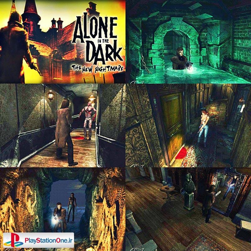 بازی تنها در تاریکی PS1