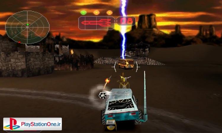 دانلود بازی ماشین جنگی - پلی استیشن ۱