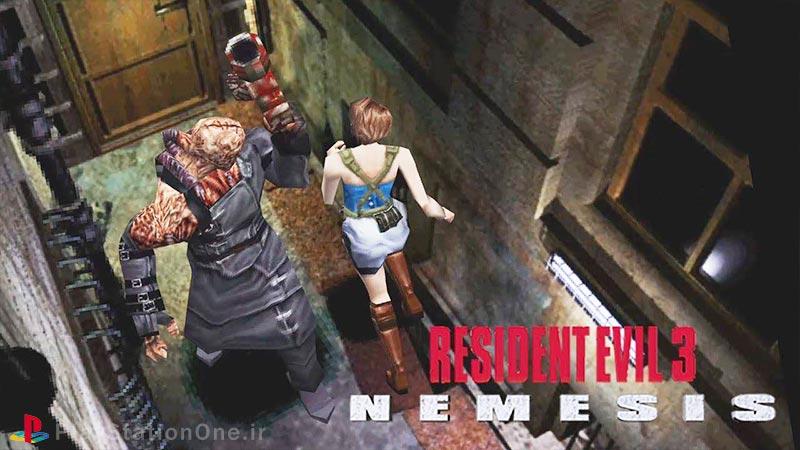 دانلود بازی Resident Evil 3 - Nemesis ps1