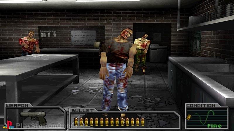 داستان بازیResident Evil - Survivor برای ps1